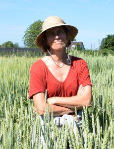 agricultrice en biodynamie